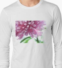 Light Impression. Pink Chrysanthemum  T-Shirt