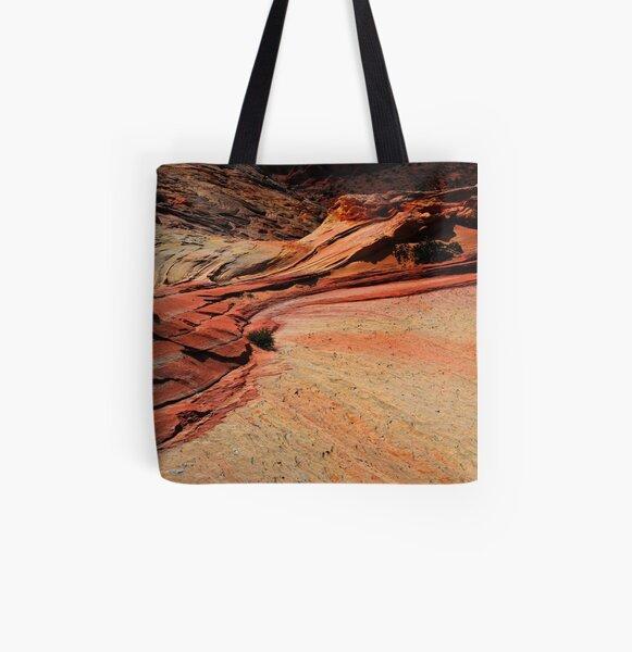 Shoreline All Over Print Tote Bag