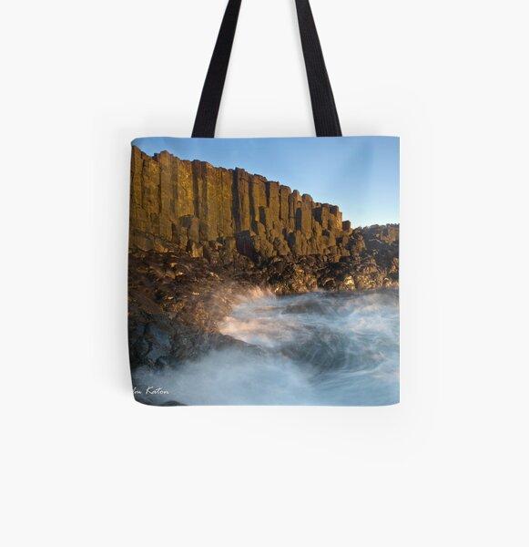 Whirlpool, Bombo Headland, NSW All Over Print Tote Bag