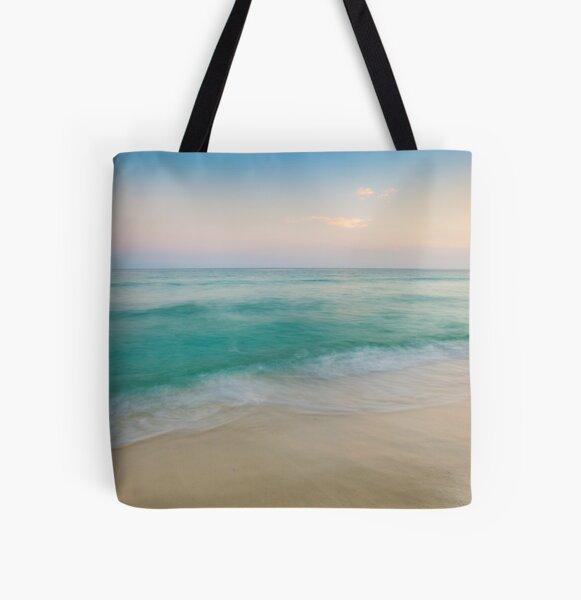 Sunset Tidal All Over Print Tote Bag