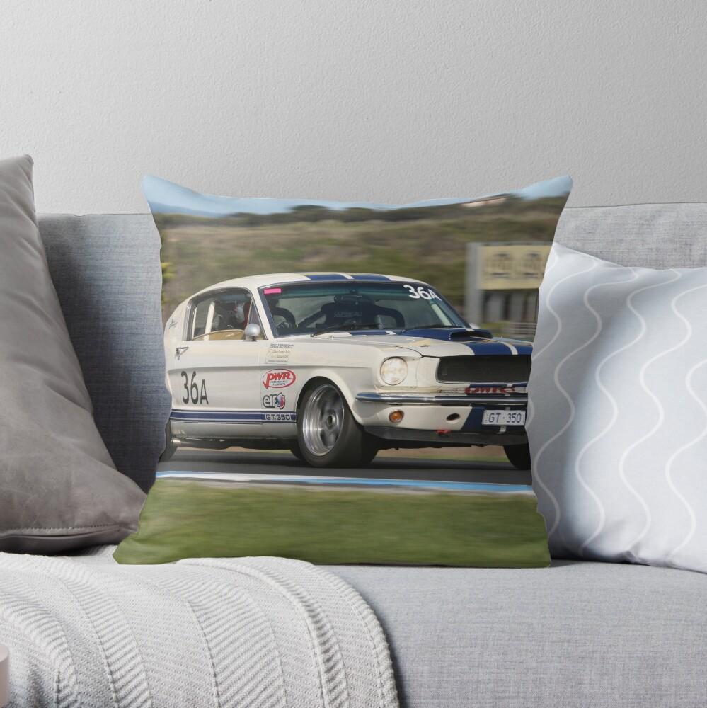 Mustang Magic Throw Pillow