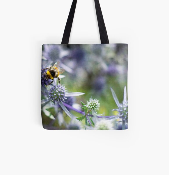 Busy Is, As Busy Does All Over Print Tote Bag