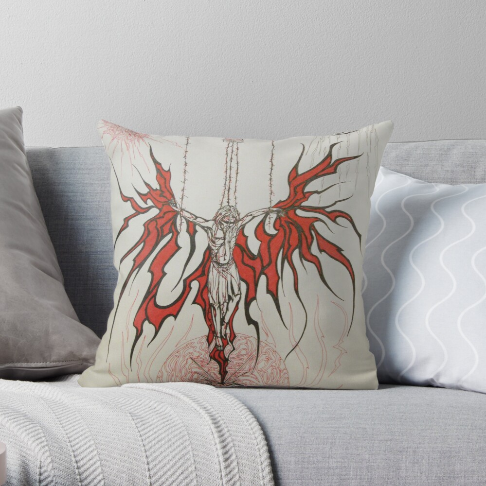 Untitled yet Throw Pillow