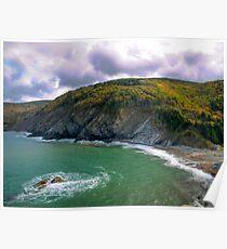 Meat Cove - Cape Breton Poster