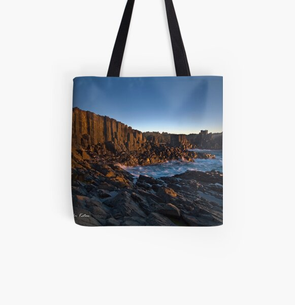 The Cathedral Revisited - Bombo Headland, NSW All Over Print Tote Bag