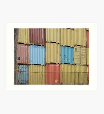 The Shipping Container Containment Art Print