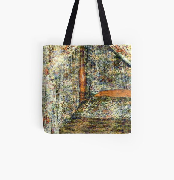 A Profusion of Chintz All Over Print Tote Bag