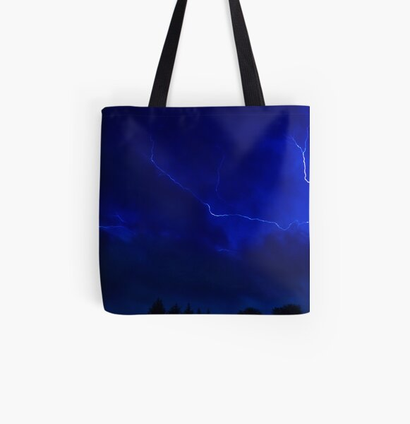 God's Painting All Over Print Tote Bag