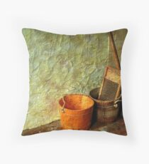 The Laundry  Throw Pillow