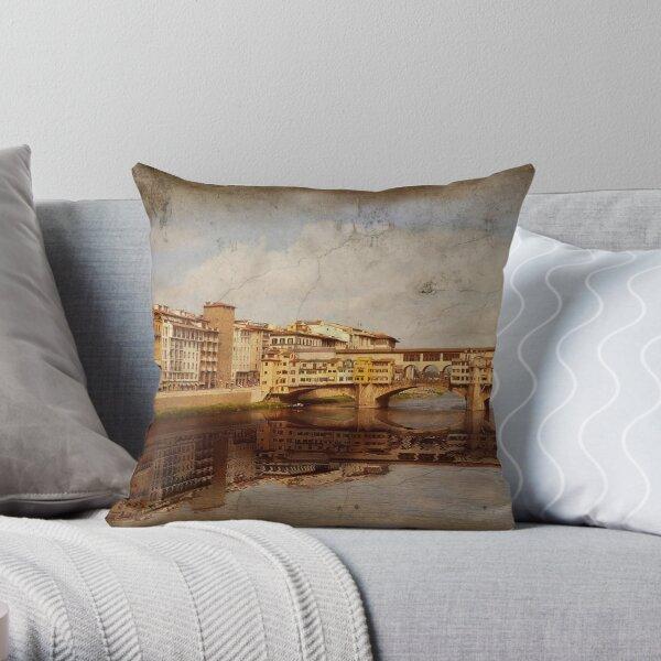 Ponte Vecchio #2 Throw Pillow