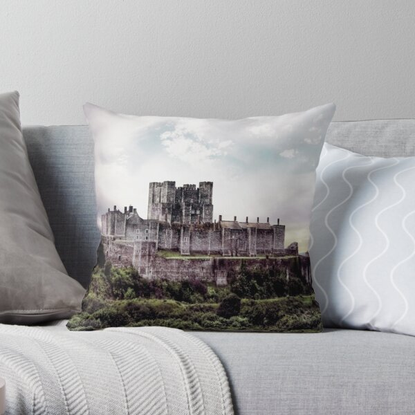Dover Castle 2 Throw Pillow