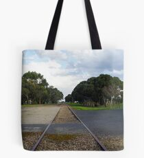 Waiting for a Train Tote Bag