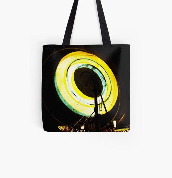Around, Around, Around, We Go! All Over Print Tote Bag