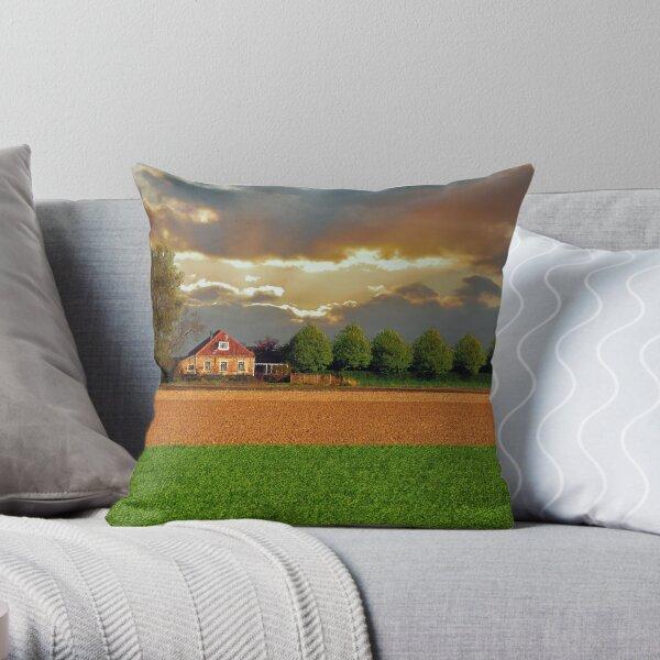 Polder House Throw Pillow