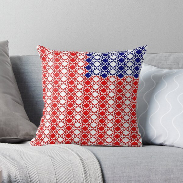 Together We Stand / From Sea To Shining Sea Throw Pillow