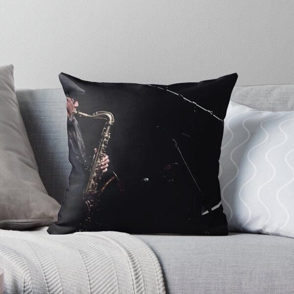 Charles Lloyd Throw Pillow