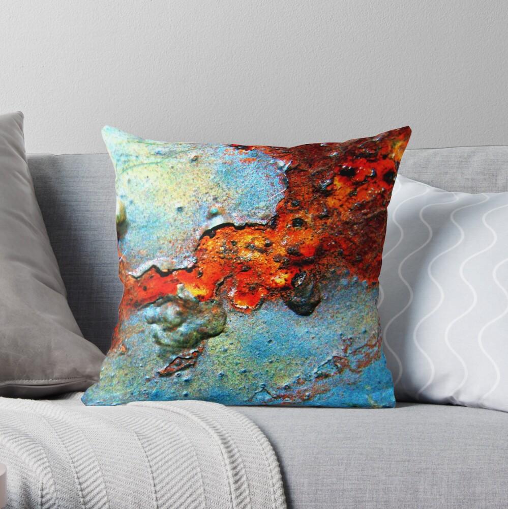Rust Never Sleeps Throw Pillow