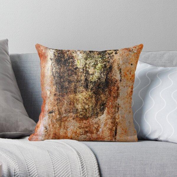 Rusty Canvas Throw Pillow