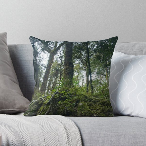 Roots. Throw Pillow