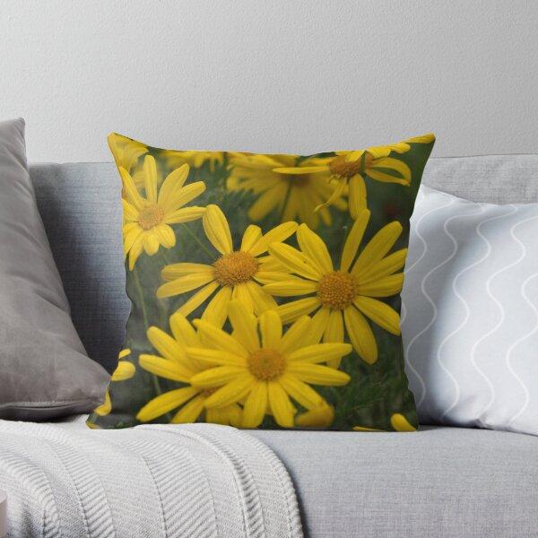 Give me a daisy a day dear... Throw Pillow