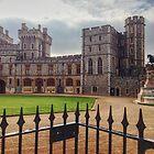 Windsor Castle upper ward (inside ) by Kent Burton