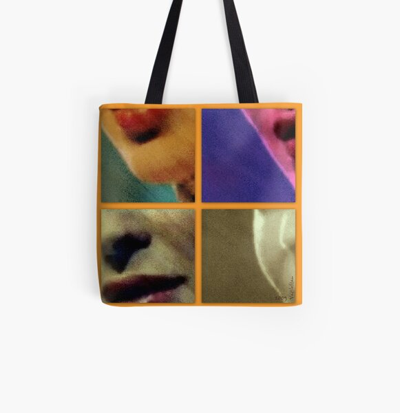 Aussie beauty puzzled by me All Over Print Tote Bag