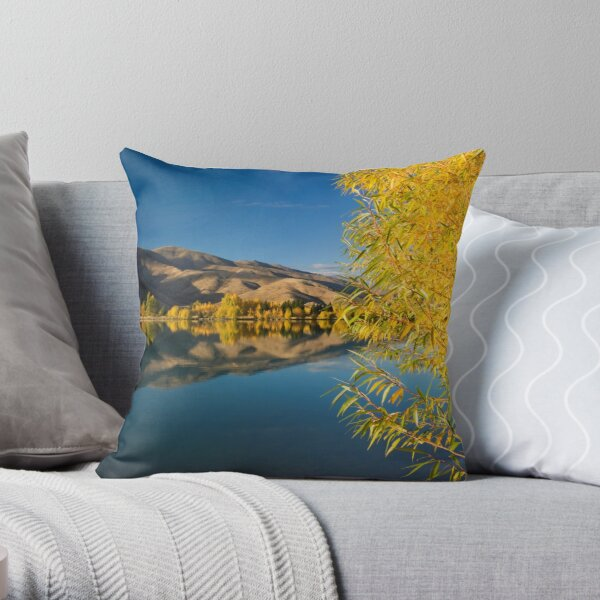 Mackenzie Country Reflections. Throw Pillow