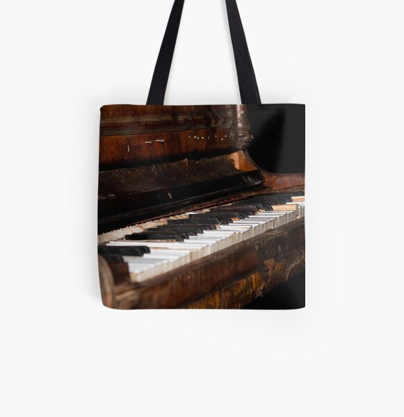 The piano All Over Print Tote Bag