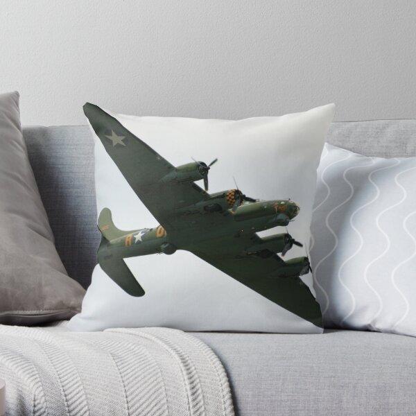 Sally B Flies Again! Throw Pillow