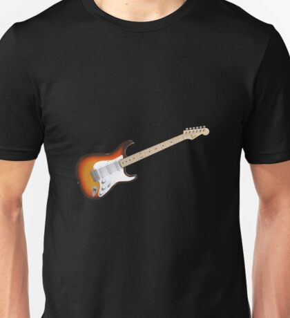 Sunburst Electric Guitar Unisex T-Shirt