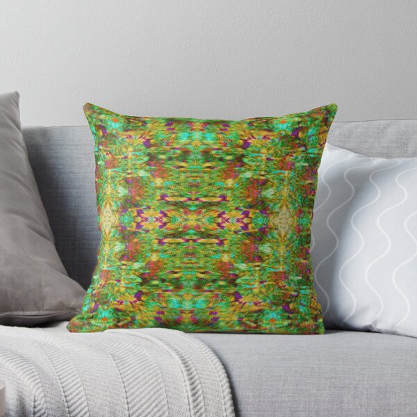 A Visual Coo Throw Pillow
