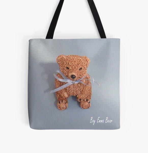 Emma Bear boy All Over Print Tote Bag
