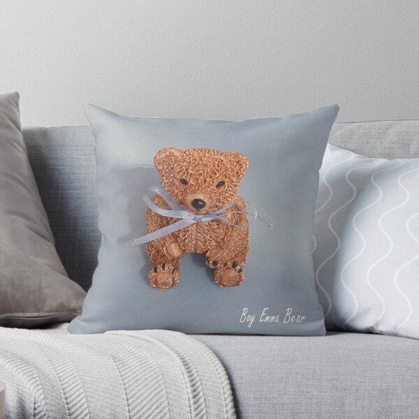 Emma Bear boy Throw Pillow