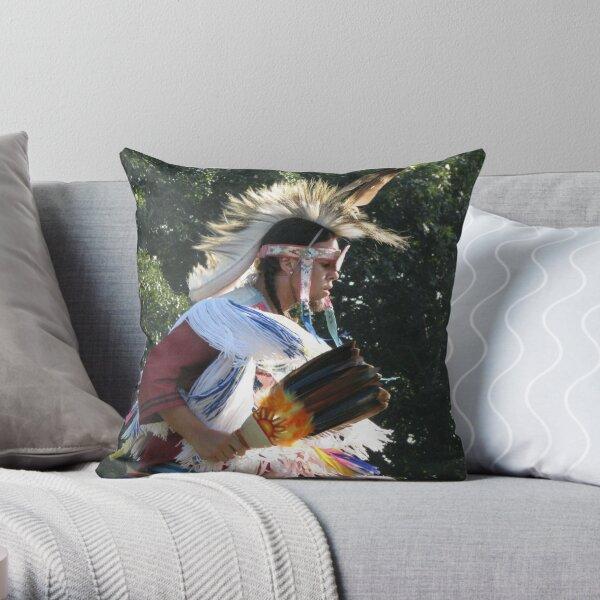 Native American Series No. 12 Throw Pillow