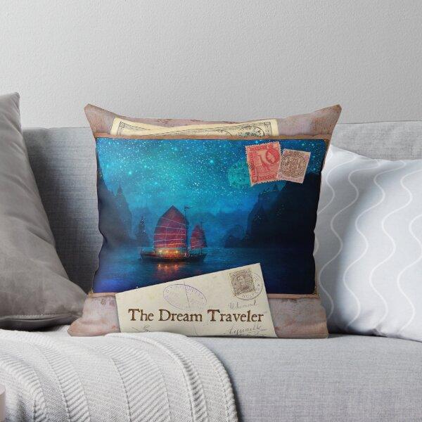 The Dream Traveler Foxfires Calendar - Cover Throw Pillow