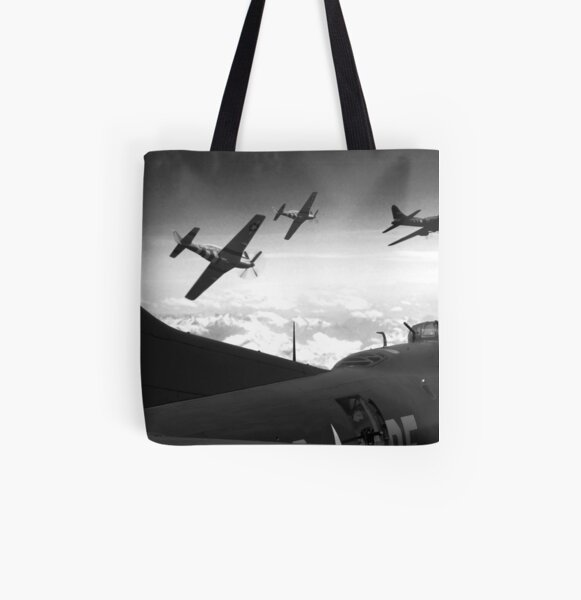 The Final Mission (Monochrome Version) All Over Print Tote Bag