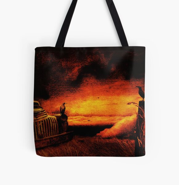 Truck Stop Hell, near Margate, Tasmania All Over Print Tote Bag