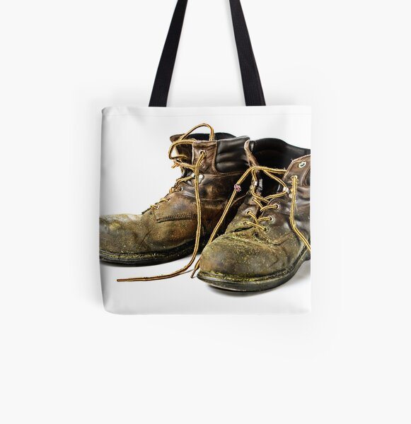 These Boots are made for Workin!! All Over Print Tote Bag