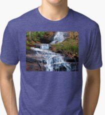 A Bartram Trail Cascading Waterfall Tri-blend T-Shirt