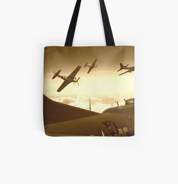 The Final Mission (Sepia Version) All Over Print Tote Bag