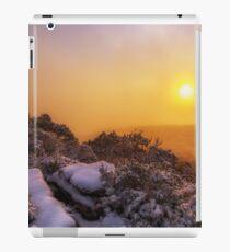 Grampians Snow Sunrise - Shrubs iPad Case/Skin