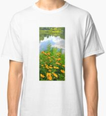 Daisies Near the Lake Classic T-Shirt