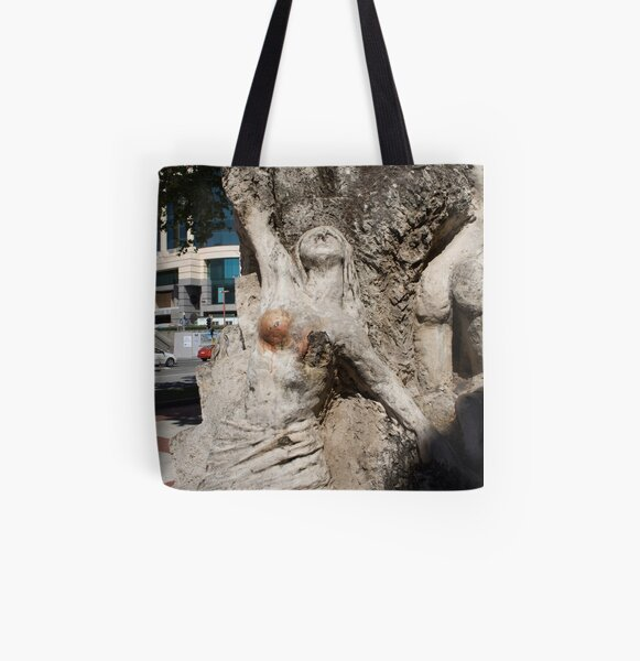 Vision from Hell, CBD All Over Print Tote Bag