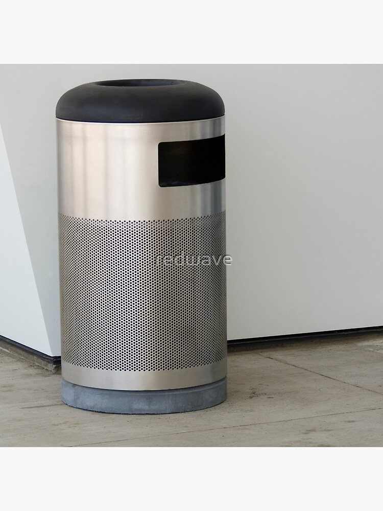 Airport Trash Can by redwave