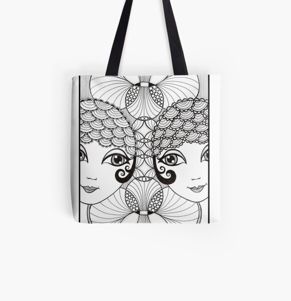 Showgirls All Over Print Tote Bag