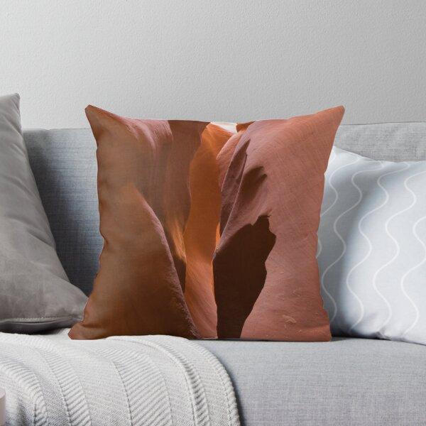 Lower Antelope Canyon, Page, Arizona. Throw Pillow