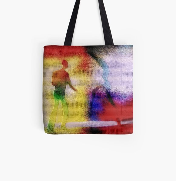 Under the influence of music All Over Print Tote Bag