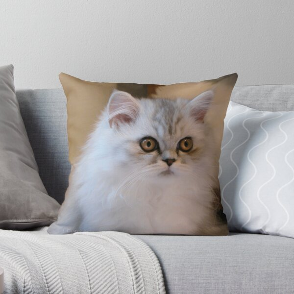 Pure Paris Throw Pillow