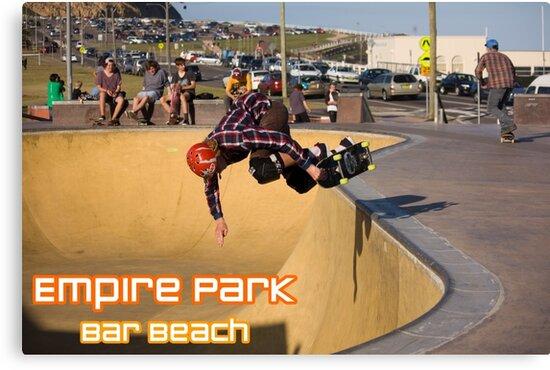 Nose-Grab Backside Air - Empire Park Skate Park  by reflector