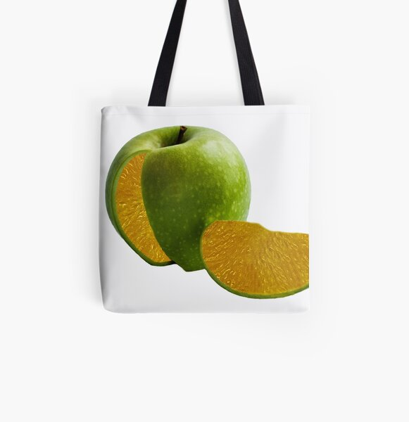 Comparing Apples and Oranges All Over Print Tote Bag